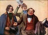 Mr. Tupman, Mr. Snodgrass, and Mr. Winkle