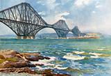 Forth Bridge and Coast of Fife