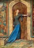 Kate Barlass. DG Rossetti. The King's Tragedy.