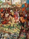 King Richard II and Watt Tyler