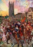 Prince Rupert at Oxford going into Battle