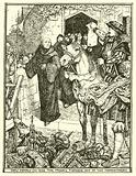 How Henry VIII had the Monks turned out of the Monasteries