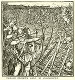English Archery Wins at Agincourt