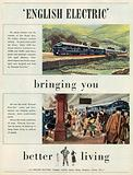 English Electric Advertisement, 1951