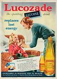 Lucozade Glucose Advertisement, 1954