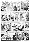 Sue Carter. Comic strip from Swift, 26 May 1956.