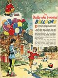The daddy who invented balloons