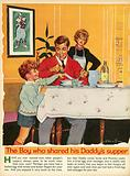 The boy who shared his daddy's supper