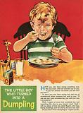 The little boy who turned into a dumpling