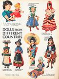 Dolls in traditional costume