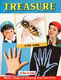 """""""w"""" for wasp; """"x"""" for x-ray"""