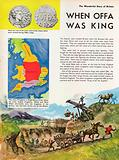 The Wonderful Story of Britain: King Offa watches his dyke being built