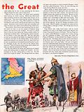 The Wonderful Story of Britain: King Guthrum surrenders to King Alfred and becomes a Christian