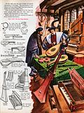 The Wonderful Story of Britain: A musical instrument maker in his shop