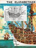 The Wonderful Story of Britain: The Elizabethan Sailing Ship
