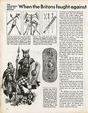The Wonderful Story of Britain: Early Britons and their weapons