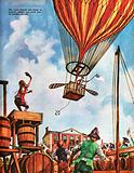 The Wonderful Story of Britain: Balloon ascent
