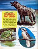Creatures that laugh