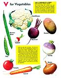 V For Vegetable –  Can a vegetable be a fruit?