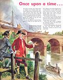 Once Upon a Time… Building a bridge for boats to cross a river