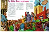 A medieval Mystery Play performed by members and apprentices from the Guilds