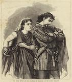 Mr Henry Irving and Miss Bateman in Macbeth at the Lyceum Theatre
