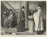 A Christening in the Chapel of the Foundling Hospital
