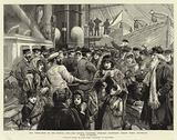 The Emigration of the Russian Jews, the Doctor examining Steerage Passengers before their Departure from Liverpool