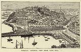 Torquay, General view from Vane Hill