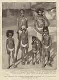 The Famine in India, starving Natives at Jubbulpore