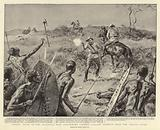 Heroic Deeds in the Matabele War, Lieutenant Crewe's Gallant conduct near the Umguza River