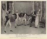 """Nelson's Enchantress"" at the Avenue Theatre, the Ballroom Scene"
