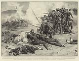 The Fighting at Velestino, Repulse of the Turkish Infantry at Rizomalo