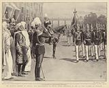 The Moorish Mission at Berlin, the installation of Prince Eitel Friedrich in the 1st Foot Guards at Potsdam