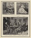 President McKinley and his Cabinet at the Executive Mansion, Washington