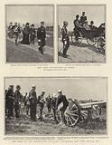 The Army Manoeuvres at Vitry, the Tsar at the Manoeuvres at Vitry, Examining the New French Gun