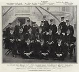 """Officers of the Royal Yacht """"Victoria and Albert"""""""