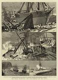 The Great Snowstorm and Gale, Wrecks on the Coast