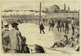 The Scottish Gathering at Stamford Bridge, tossing the Caber