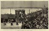 The Late Czar of Russia, the Funeral Procession from the Winter Palace to the Fortress of St Peter …
