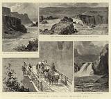 The Great Shoshone Falls, Idaho Territory, USA