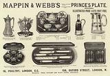 Advertisement, Mappin and Webb's Prince's Plate