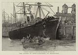The Strike of Dock Labourers at Melbourne