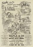 Advertisement, Maple and Co