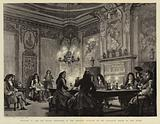 William III and Dutch Courtiers in the Smoking Pavilion of his Pleasure House by the River