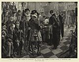 A Royal Almsgiving, the Ceremony of distributing Her Majesty's Royal Maundy on Maundy Thursday in Westminster Abbey