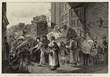 Market-day in Florence, Revenue Officers searching Peasants for Contraband Goods at the Porto Romano