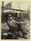 """The Kiel Fetes, Mr Gladstone on Board the """"Tantallon Castle"""""""