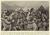 The Rising of the Waziris on the North-West Frontier, the Attack on the British Camp at Wano, in Waziristan