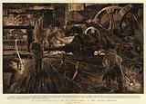 In the Rolling Mill of an Ironworks in the Black Country